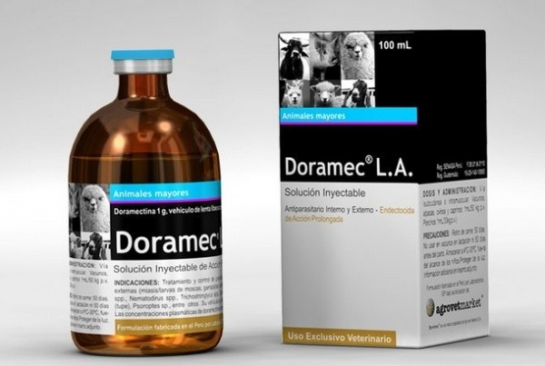 DORAMEC L. A. 1% (Дорамек Л.А.) от глистов,100 мл