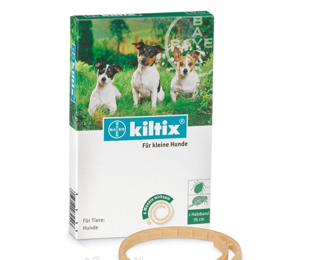 KILTIX (КИЛТИКС) ошейник от блох и клещей для мелких пород собак длина 35 см