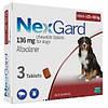 NEXGARD (НЕКСГАРД) таблетки от блох и клещей для собак весом от 25 до 50 кг, 1 таб.