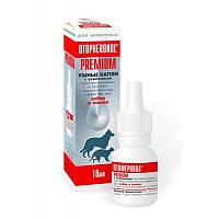 OTOPHERONOL PREMIUM (Отоферонол) капли усиленного действия для лечения ушной чесотки у собак и кошек, 10мл