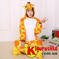 Костюм в виде животного Жираф кигуруми для взрослых 5ed246c1f8f24