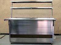 Прилавок охлаждаемый открытый 1200*700*1500 мм