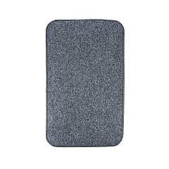 Электрический коврик с подогревом Теплик с термоизоляцией 100 х 150 см Темно-серый