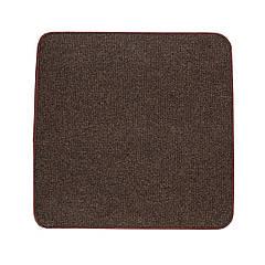 Электрический коврик с подогревом Теплик с термо и гидроизоляцией 100 х 100 см Темно-коричневый