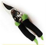 Секатор 215 мм, косий зріз Ø 16мм, тефлонове покриття, прогумована ручка