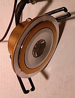 Точечный светильник CTC-LED 1195 1Вт orange silver, фото 1
