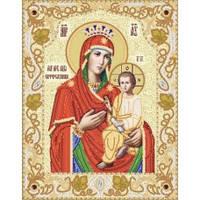 Схема для вышивки бисером РИК-3-034 Икона Божией Матери ''Скоропослушница'' 26*33 Маричка