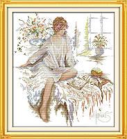 Набор для вышивания крестом Утро