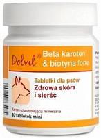 Dolfos Dolvit Beta Karoten & Biotyna Forte mini для собак, 90 шт