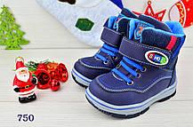 Ботинки  детские зимние с мехом  на мальчика.24 размер, фото 2
