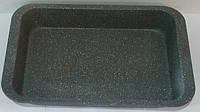 Форма антипригарная прямоугольная с гранитовым напылением 365*245*55 мм (шт)