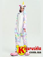 Пижама Звездный Единорог кигуруми
