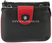 Распродажа! Женский кожаный клатч Karya 0681-45 черный Турция