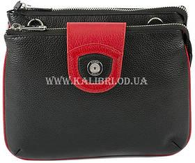 Розпродаж! Клатч жіночий шкіряний Karya 0681-45 чорний Туреччина