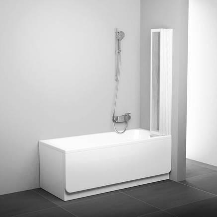 Штора для ванны пятиэлементная VS5 113,5 см Ravak, фото 2