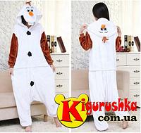 Аниме костюм кигуруми  снеговик Олаф