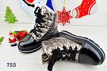 Ботинки детские зимние на  меху на девочку  37 размер, фото 3