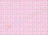 Фетр с принтом ЦВЕТОЧНЫЙ ОРНАМЕНТ РОЗОВЫЙ, 22x30 см, корейский мягкий 1.2 мм