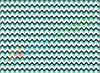 Фетр с принтом ЗИГ-ЗАГ МОРСКАЯ ВОЛНА, 22x30 см, корейский мягкий 1.2 мм