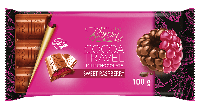 Шоколад молочный с малиной COCOA TREVEL  Baron  Польша, 100г