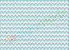 Фетр с принтом ЗИГ-ЗАГ СЕРО-ГОЛУБОЙ, 22x30 см, корейский мягкий 1.2 мм