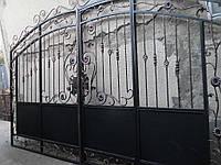 Ворота кованые под заказ в киеве