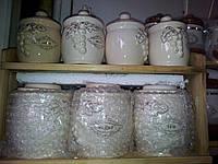 Керамический набор для специй 7 предметов