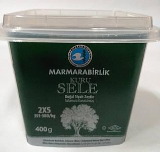 Черные оливки (маслины) вяленые 400 г Турция