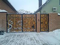 Ворота под заказ в Киеве