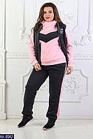 Спортивный костюм женский 3-ка батал Ориент , фото 1