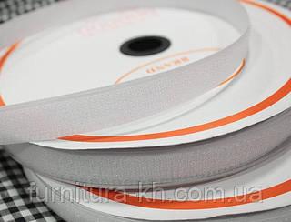 Липучка(Текстильная застёжка) 2 см белая  в рулоне 25 метров