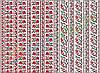 Фетр с принтом УКРАИНСКАЯ ВЫШИВКА, 22x30 см, корейский мягкий 1.2 мм