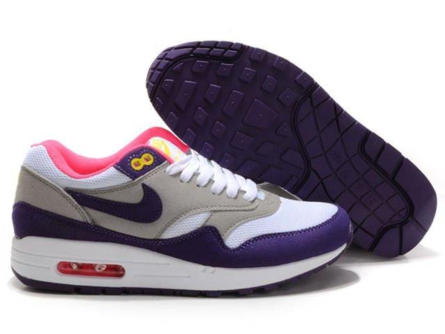 ac8e939a Женские кроссовки Nike Air Max 87 серые с белым - Обувь и одежда с  доставкой по