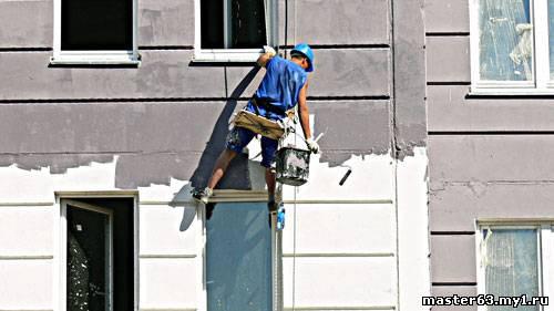 Фасадные работы. Промышленный альпинизм - ООО «ОКСИ-ГРУПП» в Кривом Роге