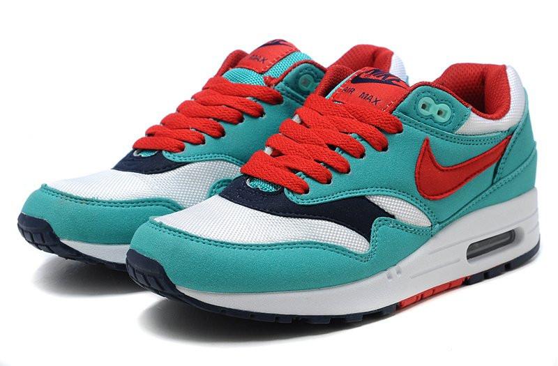 608dc36ab78e Женские кроссовки Nike Air Max 87 бирюзовые с белым - Обувь и одежда с  доставкой по