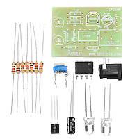 10шт 5V Комплекты дыхательного света DIY LED Flash Комплект Синий Flashing Лампа Электронные наборы LED 5мм - 1TopShop