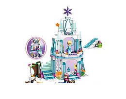 Детский развивающий конструктор JVTOY Ледяной замок Эльзы
