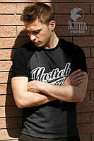 "Футболка ""Yastreb Brand"" Черно-антрацит, фото 1"