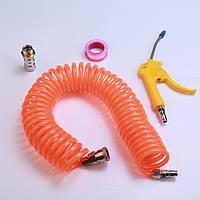 Воздуходувка Пылеуловитель Пылеуловитель Пневматический Инструмент Красная пластиковая ручка Угловая согнутая насадка - 1TopShop
