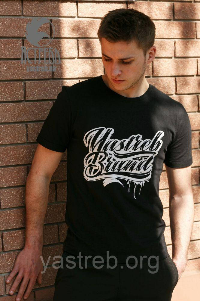 "Футболка ""Yastreb Brand"" Черный, фото 1"