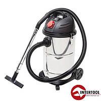 Пылесос промышленный (30 л) Intertool DT-1030