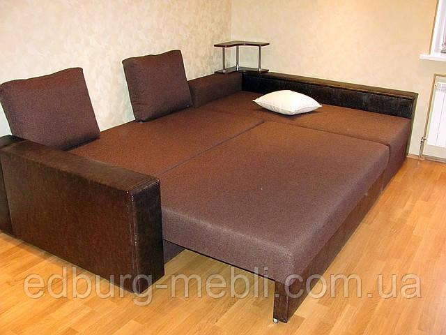 угловой диван еврокнижка с полочкой продажа цена в киеве диваны