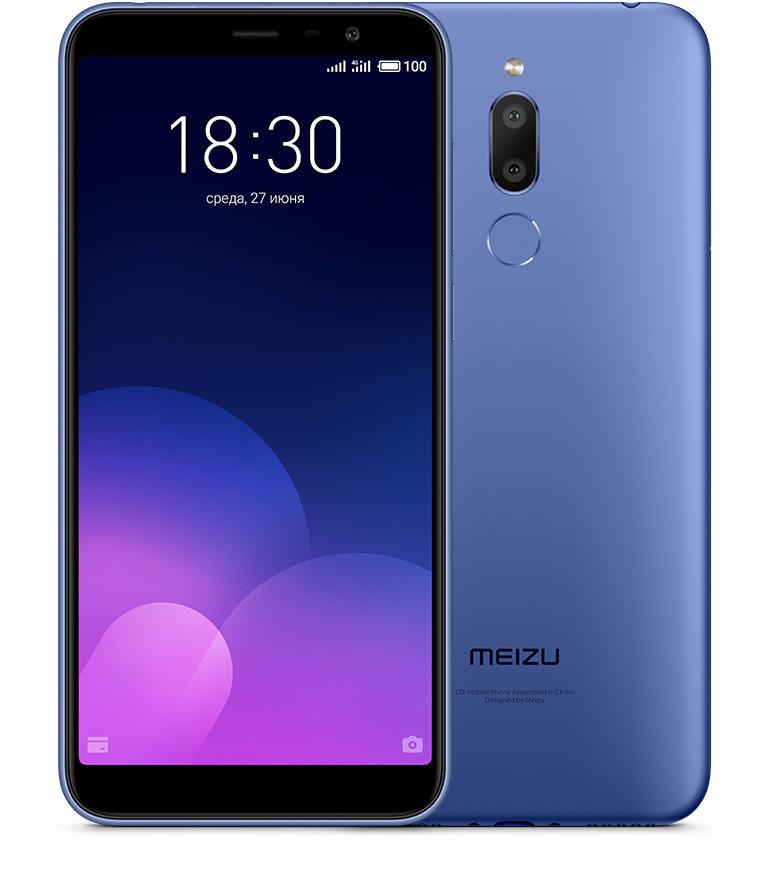 Meizu M6T 3/32Gb Blue Гарантия 1 Год