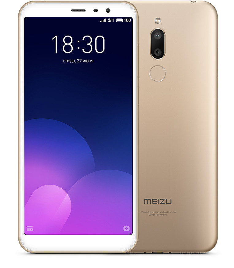 Meizu M6T 3/32Gb Gold Гарантия 1 Год