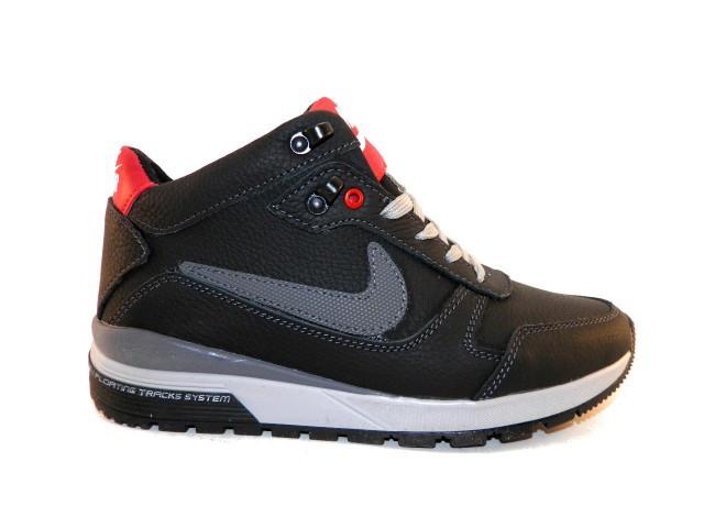 Ботинки Nike (Реплика) N черный * 16431