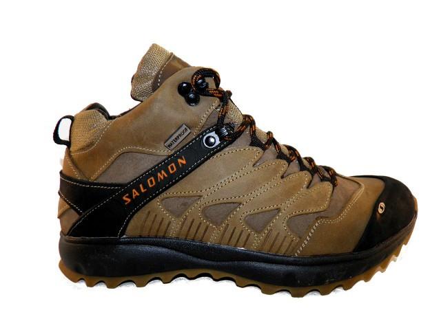 Ботинки * Salomon S 3 оливковый * 17101