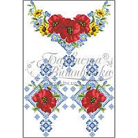 Блузка детская (заготовка) БД003дБ34 домотканое полотно (белый) Барвиста  Вишиванка 98429feb28057