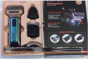Триммер и Машинка для бритья 3 В 1 GEMEI GM-589, фото 2