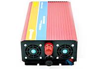 Инвертор в машину преобразователь 12V 4000W, преобразователь напряжения, инвертор автомобильный, мощный инвертор