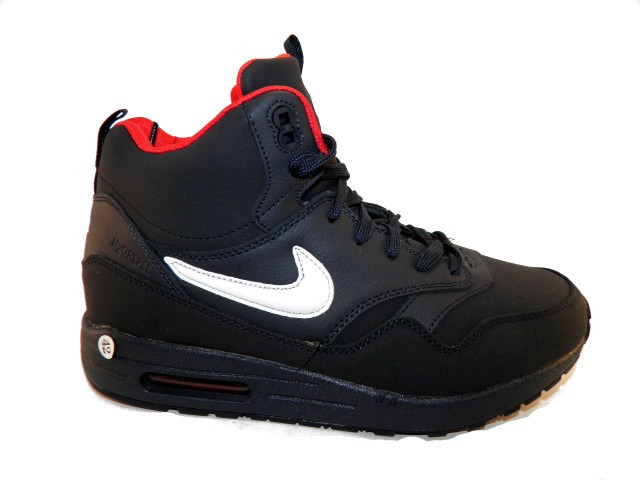 Кроссовки зимние Nike (Реплика) AM 805-3 синий